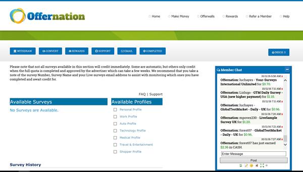 Offer Nation - Online Paid Surveys Help Guide